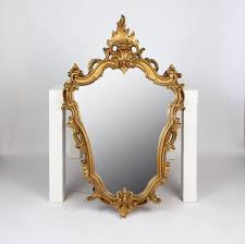 antique french wall mirror gold ornate