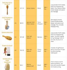 Dry Skin Brushing Chart Lymphatic Brushing How To Skin Brush For Detox