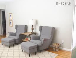 shiplap wall living room. diy wood plank accent wall - thegoldensycamore.com shiplap living room