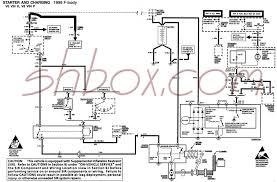 th gen lt f body tech aids starter and charging schematic 1996