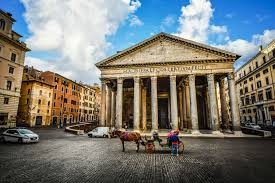 famous ancient architecture. Beautiful Architecture Ancient Architecture Building Car Carriage Cathedral Church City  Columns Famous Horse Italy Landmark Monument Morning Pantheon Piazza  Inside Famous Ancient Architecture C