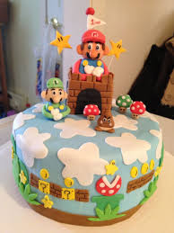 43 best Super Mario Cake & Party images on Pinterest