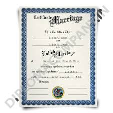 fake marriage certificate online fake marriage certificate diplomacompany in