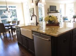 Apron Front Kitchen Sink White Kitchen Style Brushed Bronze Apron Front Sink With Kitchen