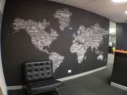 wall decor office. Wall Decor World Map Home Decorating Ideas Scheme Of Office Art T
