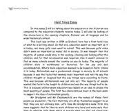 hard times essay topics which paper towel brand is the strongest  hard times essay topics