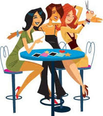 hanging out with friends clipart. girls hanging out with friends clipart