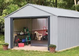 arrow sheds premium steel sheds wind