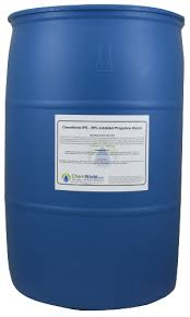 Dowfrost Freeze Chart Inhibited Propylene Glycol 55 Gallons