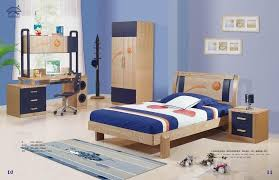 blue bedroom sets for girls. Wooden Kids Bedroom Furniture Combined With Blue Wall Blue Bedroom Sets For Girls