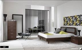 Smart Bedroom Furniture Inspiration Bedroom Cool And Smart White Themes Wall Painting
