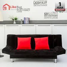 like bug iris 3 seater durable foldable sofa with 1 year warranty