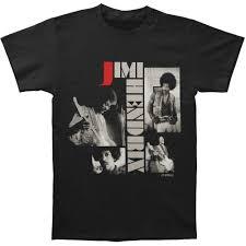 Best Black Shirt Design Jimi Hendrix Men S Re Evolution Slim Fit T Shirt Black