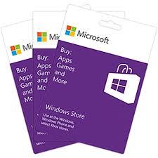 Microsoft Giftcard Microsoft Gift Card