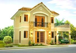 2 story house design extremely creative two y with terrace in simple plans philippines