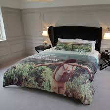 custom duvet covers in bedroom