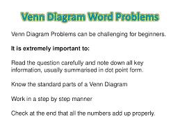 Examples Of Venn Diagram Word Problems Solving Venn Diagram Magdalene Project Org
