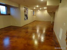 Painted Concrete Floors Cement Floors Diy Lake House Remodel Before And After Concrete