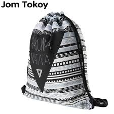 <b>Hakuna matata</b> Women geometric Backpack 3D <b>printing</b> travel ...
