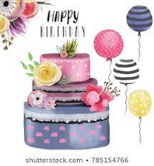 Happy Birthday Flowers Images Stock Photos Vectors Shutterstock