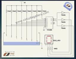 best 25 level sensor ideas on pinterest arduino transistor Gsm Cooper Wiring Diagram numeric water level indicator liquid level sensor circuit diagram with 7 segment display engineering Cooper Eagle Wiring Devices