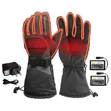 Motorcycle Clothing <b>USB</b> Leather <b>Electric</b> Heated Gloves Winter ...