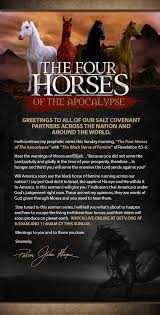 Meet The Black Horse Of Famine This Sunday August 30 2015 Getvorg