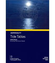 Np203 Admiralty Tide Tables Att Volume 3 Indian Ocean Including Tidal Stream Tables 2019 Edition