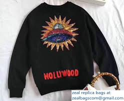 gucci ufo. gucci sequin ufo and hollywood black cotton sweatshirt 2017 ufo
