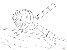 Spaceships Coloring Pages Free Coloring Pages