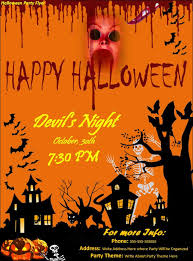 halloween template flyer halloween party flyer template archives fine templates