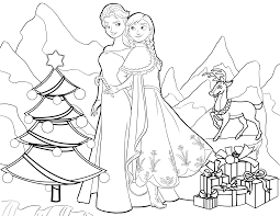 frozen christmas coloring pictures. Contemporary Frozen For Frozen Christmas Coloring Pictures P