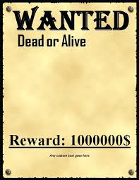 Most Wanted Sign Template Lccorp Co