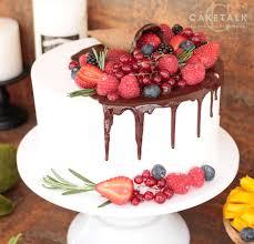 Fruit Fanatic Birthday Cake Birthday Celebration Cakes Caketalk