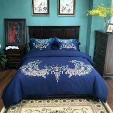 bed cover sets. Plain Cover Embroidery Design 100cotton Fabric Bed Cover Sheet Pillow Case Four  Pieces Bedding Set Queen And Kinnd Size Avaibllmutuaral Color 17527 Designer  Intended Sets O