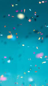 Confetti, Color And Blue Iphone ...