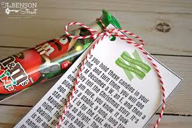 Check out the adorable treat box tutorial and grab this free printable from remarkably created. M M S Christmas Poem The Benson Street