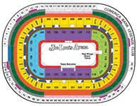 View Joe Louis Arena Seating Chart Map Joe Louis Arena