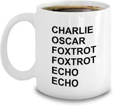 With the english alphabet you lay the most important foundation for learning the english language. Amazon Com Ham Radio Operator Gifts Phonetic Alphabet Mug Coffee Charlie Oscar Foxtrot Echo Aviation Military Code Kitchen Dining
