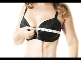 how to measure breast size how to measure bra cup size at home youtube