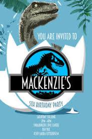 Jurassic Park Invitations Details About Personalised Jurassic Park World Dinosaurs Birthday Invites Inc Envelopes Jw1