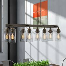 Contemporary kitchen lighting fixtures Home Decoration Fruita 8light Kitchen Island Pendant Wayfair Contemporary Kitchen Lighting Wayfair