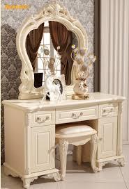 Oak Wood Bedroom Furniture Aliexpresscom Buy French Style White Solid Wood Oak Wooden