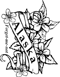 Small Picture Alaska Coloring Pages State Seal Pagejpg Coloring Pages Maxvision