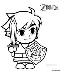 Coloriage Dessin Zelda 23 Dessin