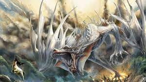 White Dragon Wallpaper on WallpaperSafari