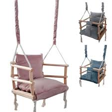 love gifts 3 in 1 wooden swing seat baby toys