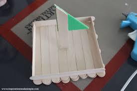 diy popsicle stick boat kids craft tutorial