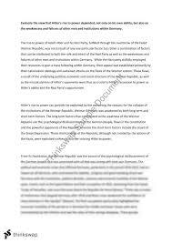 hitler essay year hsc modern history thinkswap hitler essay