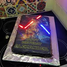 Star Wars Light Up Poster This Week In Making Star Wars Cake Project Crates For Kids
